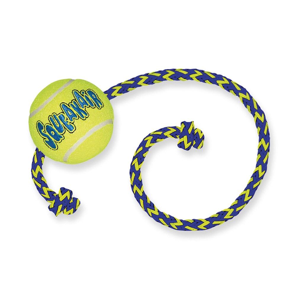 Tennispallo ja köysi koiranlelu   Kong®