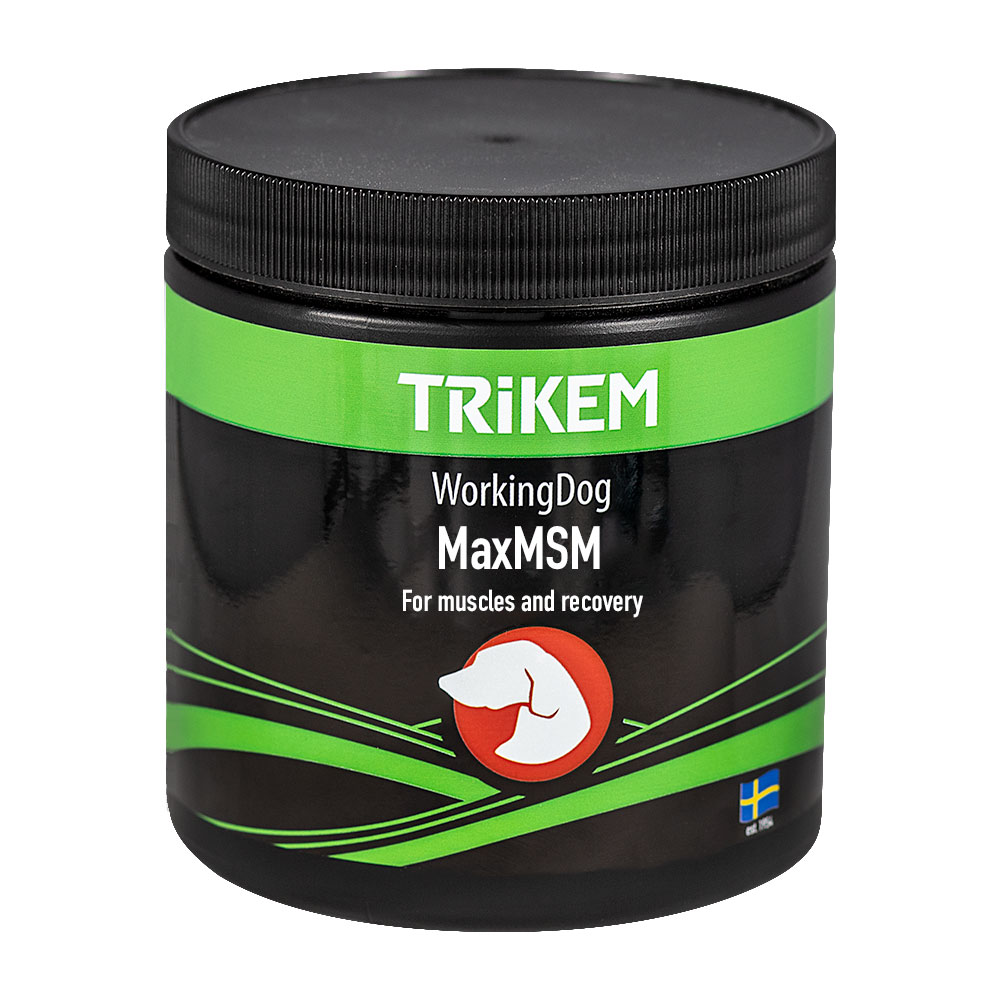 Lisäravinne  Working Dog Max MSM + Trikem
