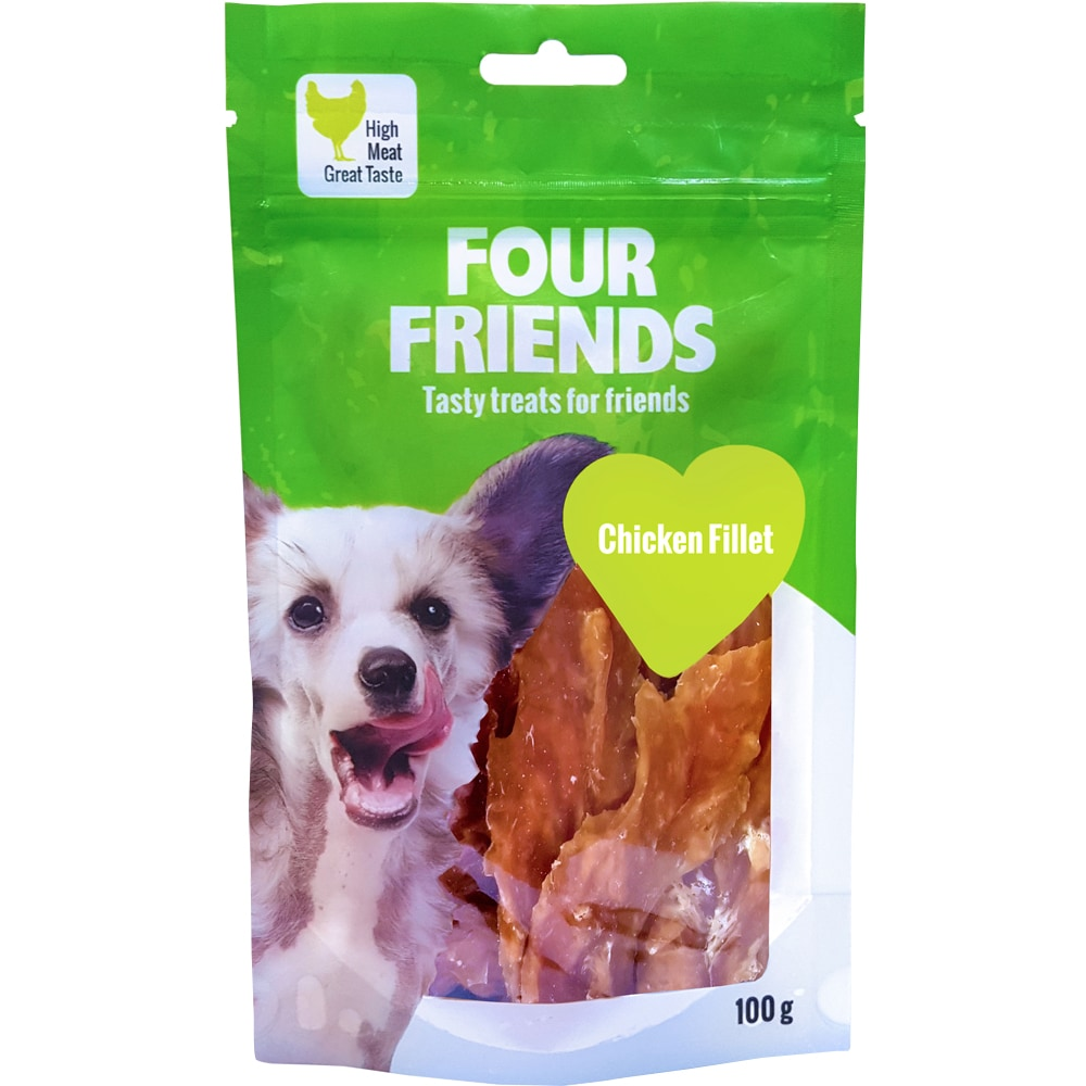 Koiranherkku  Chicken Fillet 100 g FourFriends