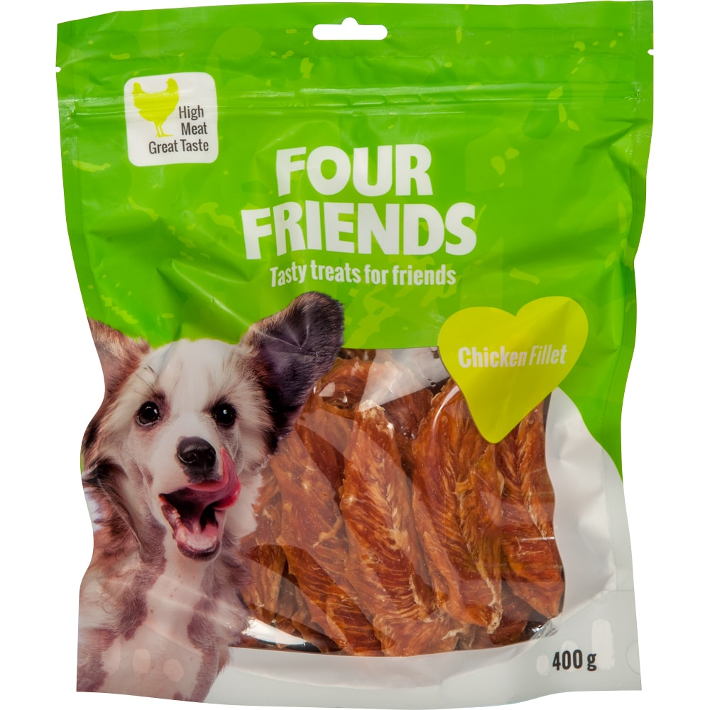 Koiranherkku  Chicken Fillet 400 g FourFriends