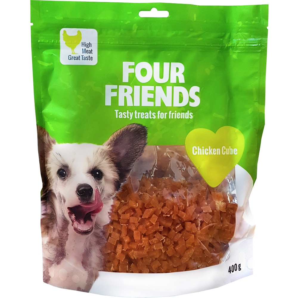Koiranherkku  Chicken Cube 400 g FourFriends