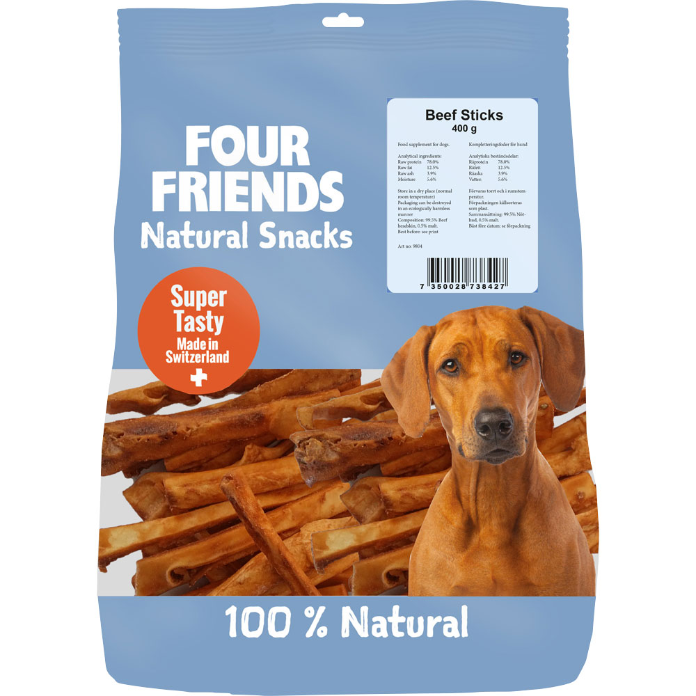 Luonnonherkku  Beef Sticks 400 g FourFriends