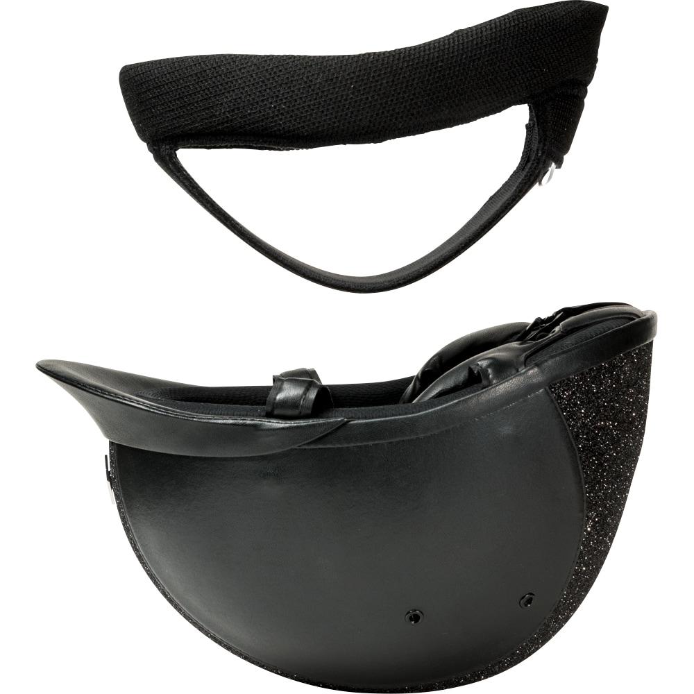 Ratsastuskypärä VG1 AYR8 Plus Sparkly Leather Look Charles Owen