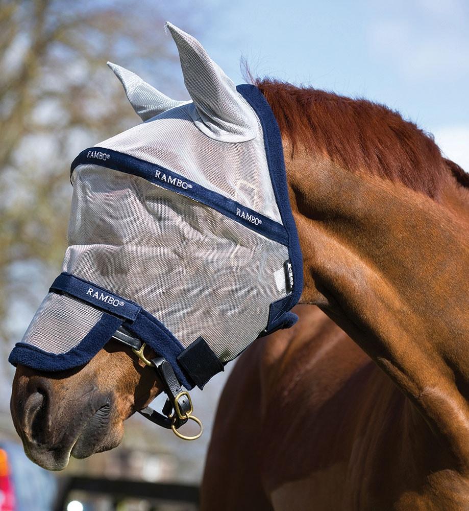 Kärpäshuppu  Rambo® Plus Horseware®