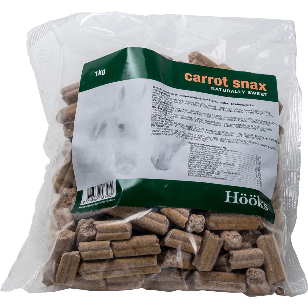 Hevosnamut  Carrot snax natural 1 kg Hööks
