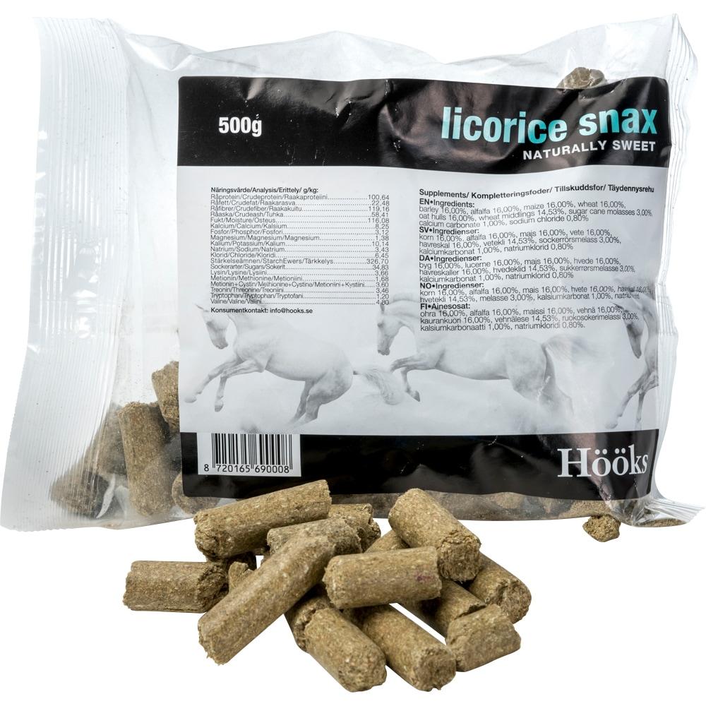 Hevosnamut 500 g Licorice Snax Hööks