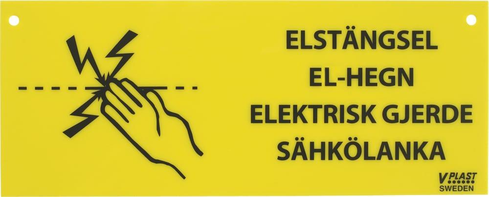 Varoituskyltti   V-PLAST