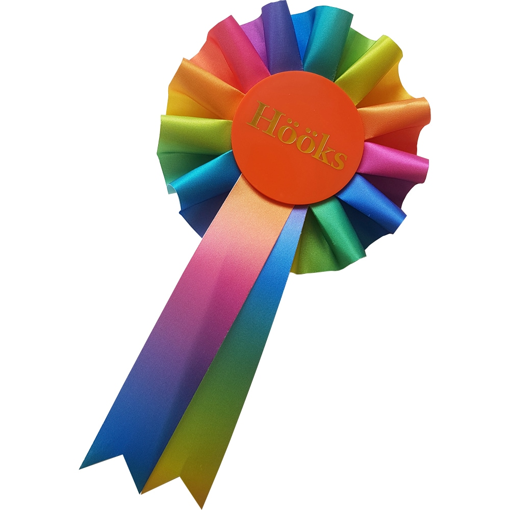 Ruusukke Keppihevonen Rainbow Hööks
