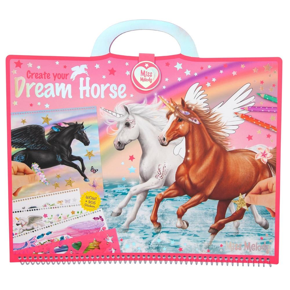 Värityskirja  Dream Horse Miss Melody